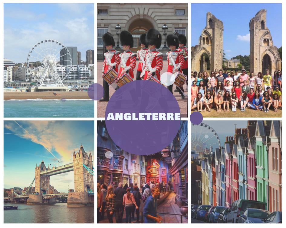 Colonies de vacances pour l'été 2018 en Angleterre