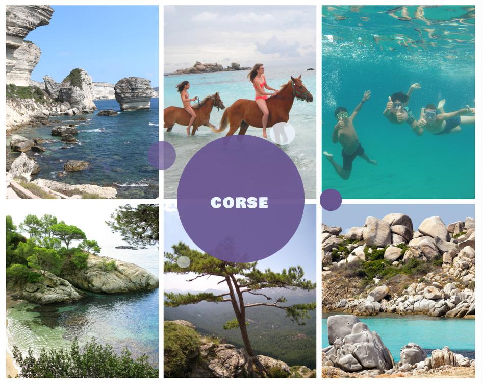 Colonies de vacances d'été 2018 en Corse pour enfants et adolescents