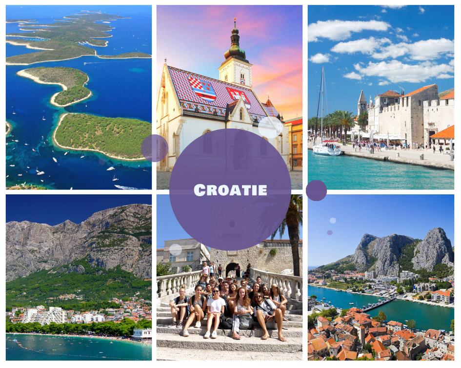 Colonies de vacances en Croatie été 2018