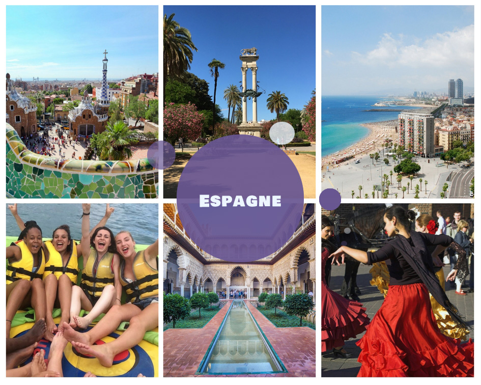 Colonies de vacances en Espagne pour l'été 2018