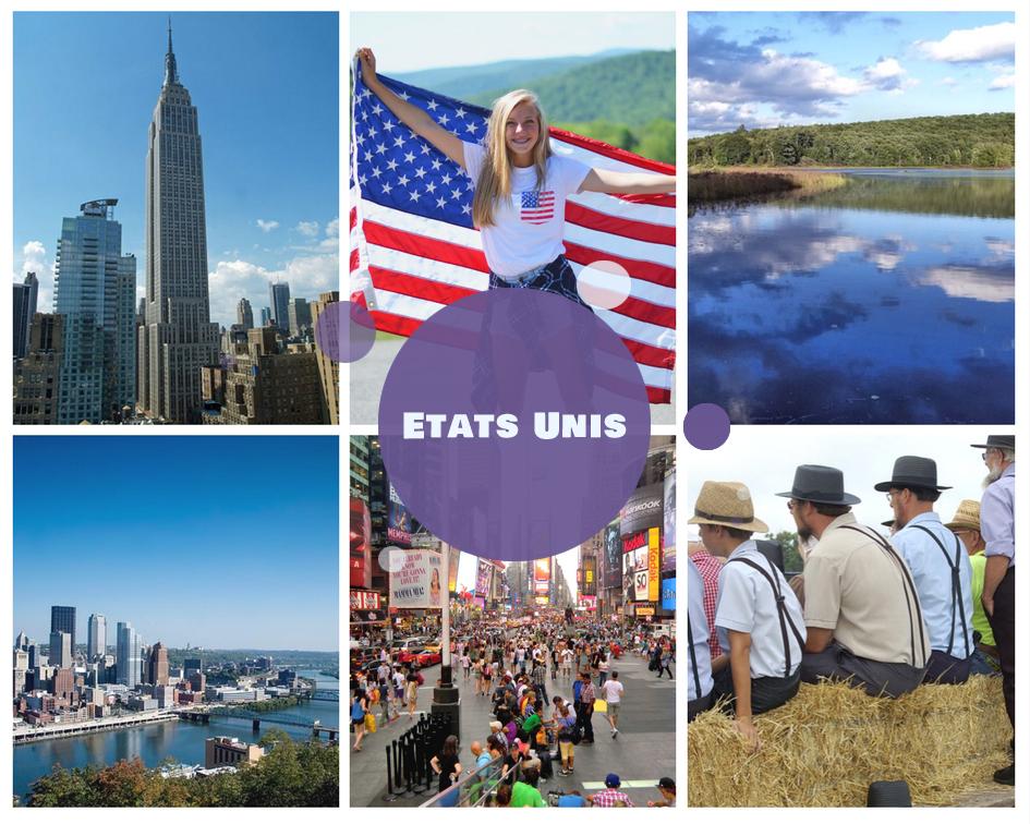 Colonies de vacances d'été aux Etats Unis