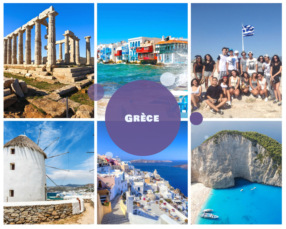 Colonie de vacances en Grèce été 2018