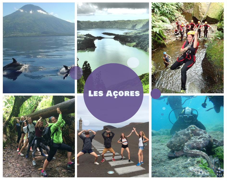 Colonies de vacances pour l'été 2018 aux Açores