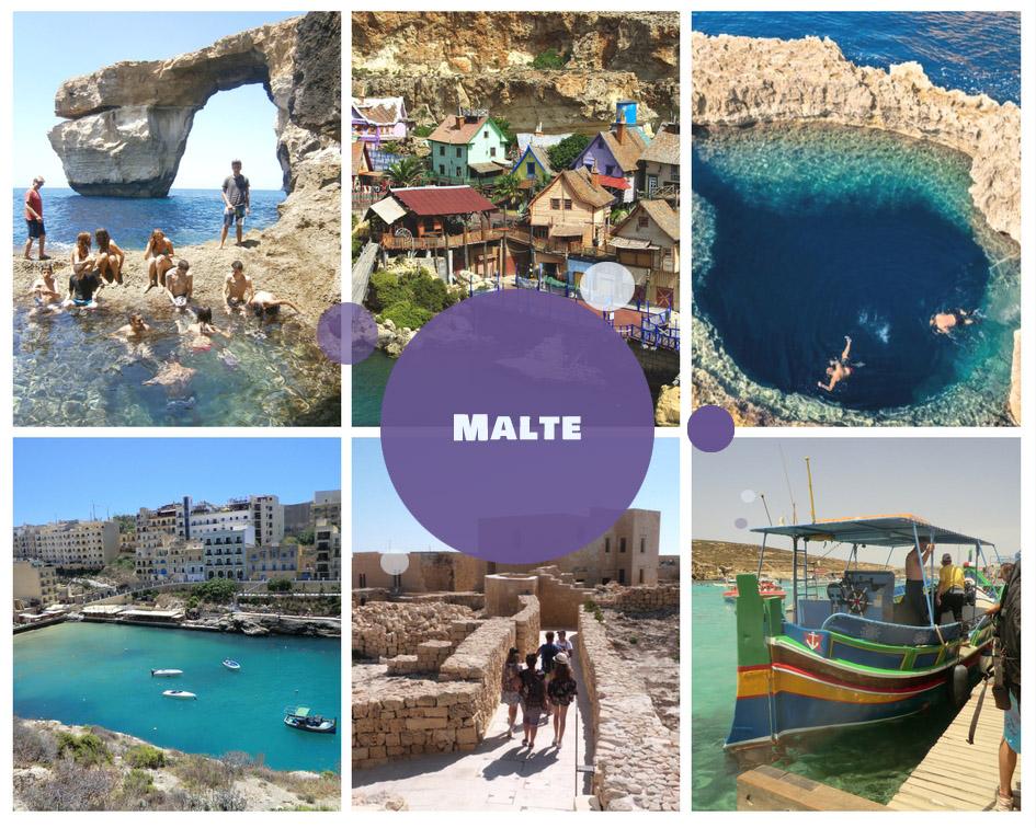Colonies de vacances à Malte pour l'été 2018
