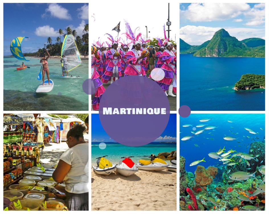 Colonie de vacances à l'étranger en Martinique été 2018