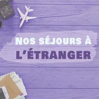 Partir à l'étranger cet été !
