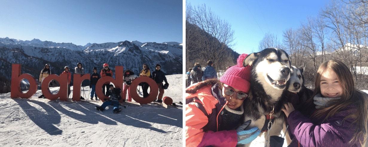 Enfants en colo à la neige cet hiver en Italie et en France