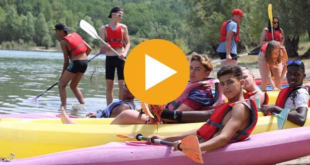 Vidéo des colonies de vacances à bauduen cet été