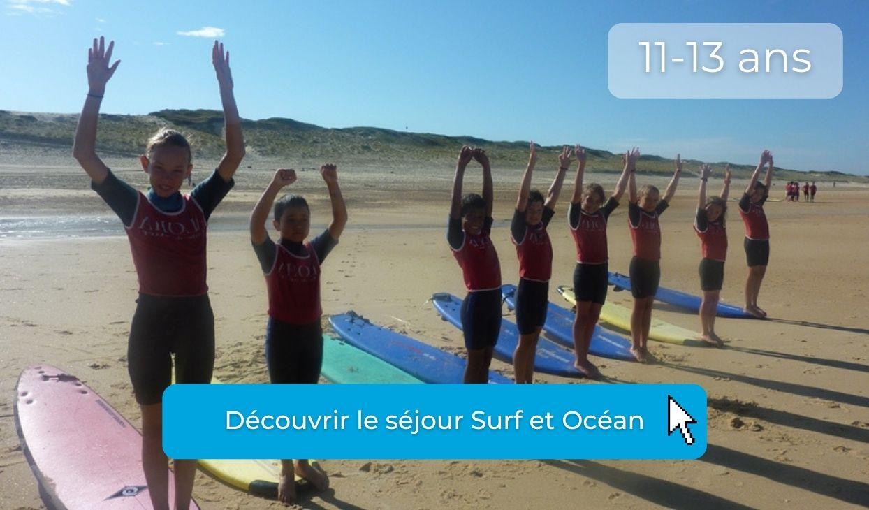 preados en colo surf cet été à l'ocean