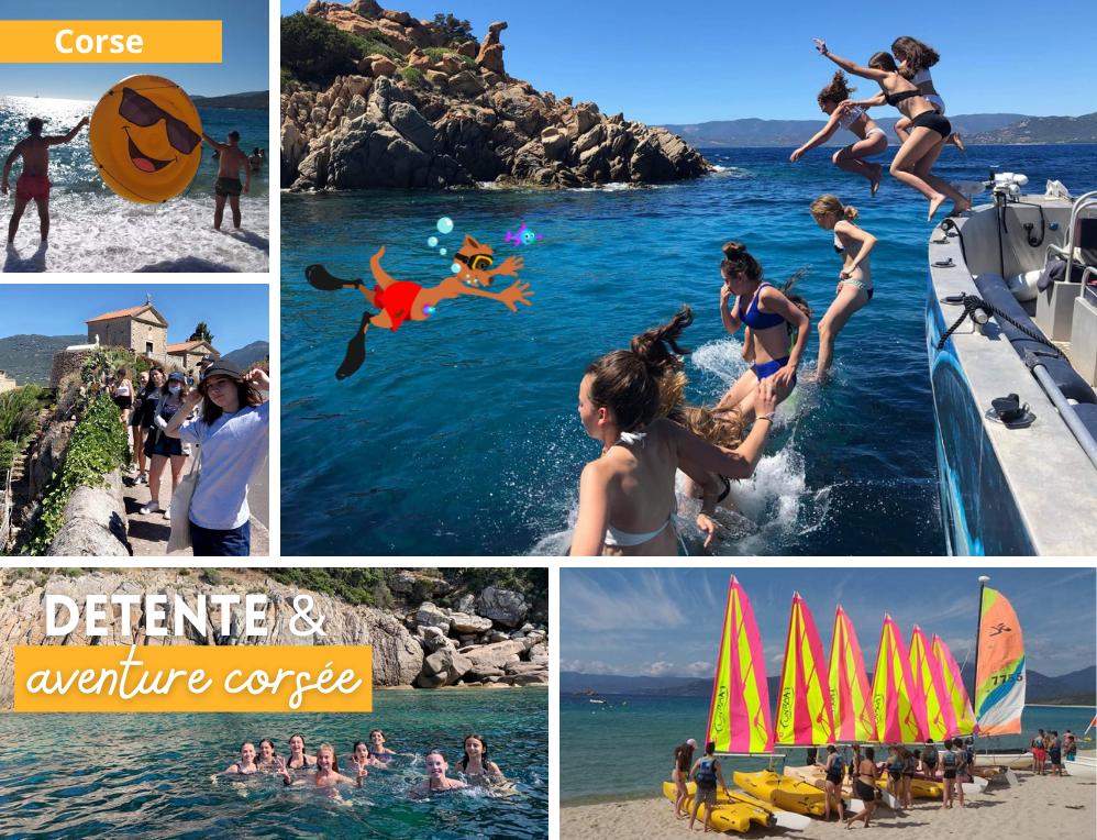 Photos des colonies de vacances en Corse