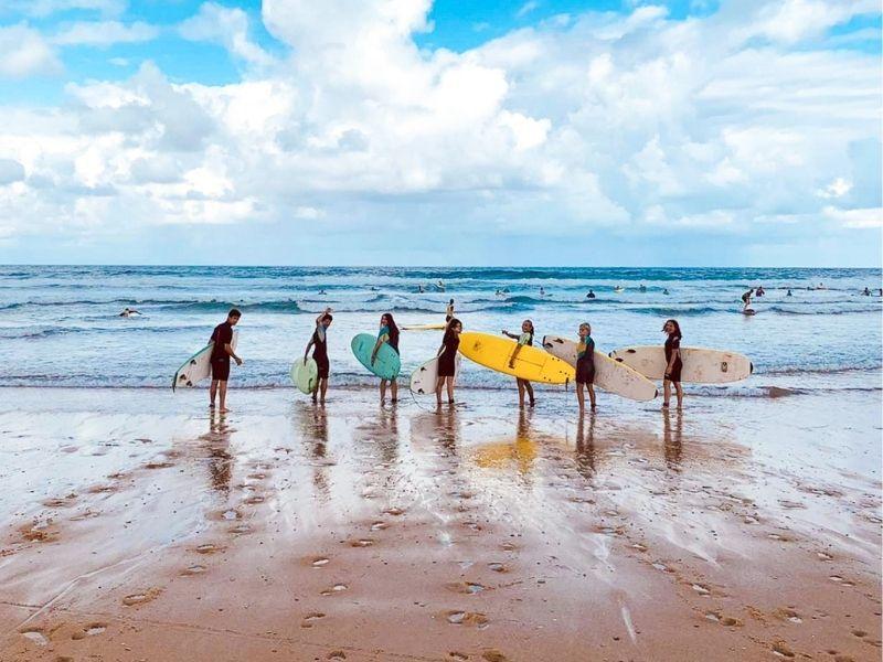 Photo de colo surf à Capbreton