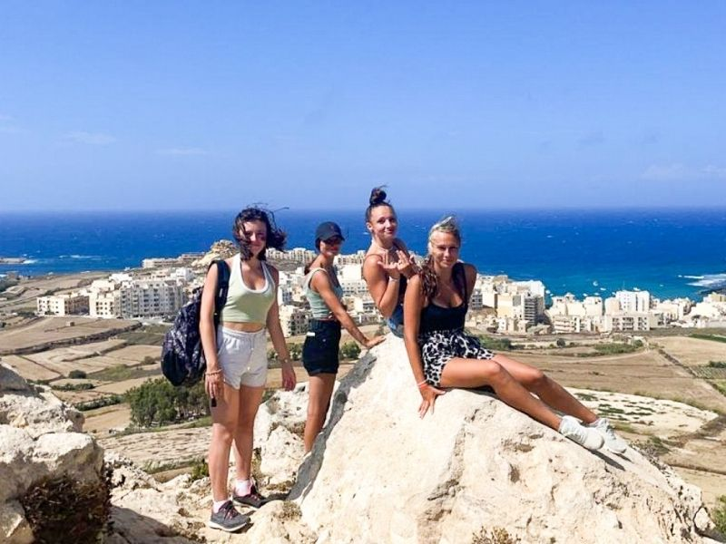 Photo de colo à Malte
