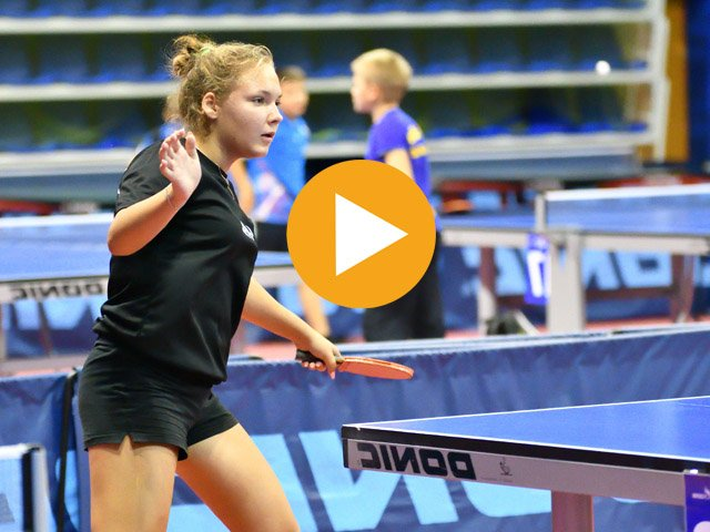 Stage sportif tennis de table