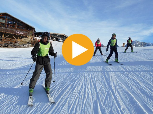 Vidéo ski surf and sun à Courchevel