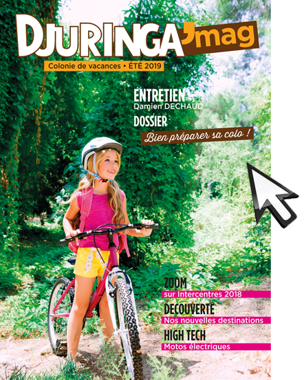 Couverture du catalogue de colonies de vacances Djuringa Juniors
