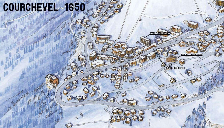 Centre d 39 accueil chalet sainte marie hiver centre de vacances courchevel djuringa juniors - Courchevel 1650 office du tourisme ...