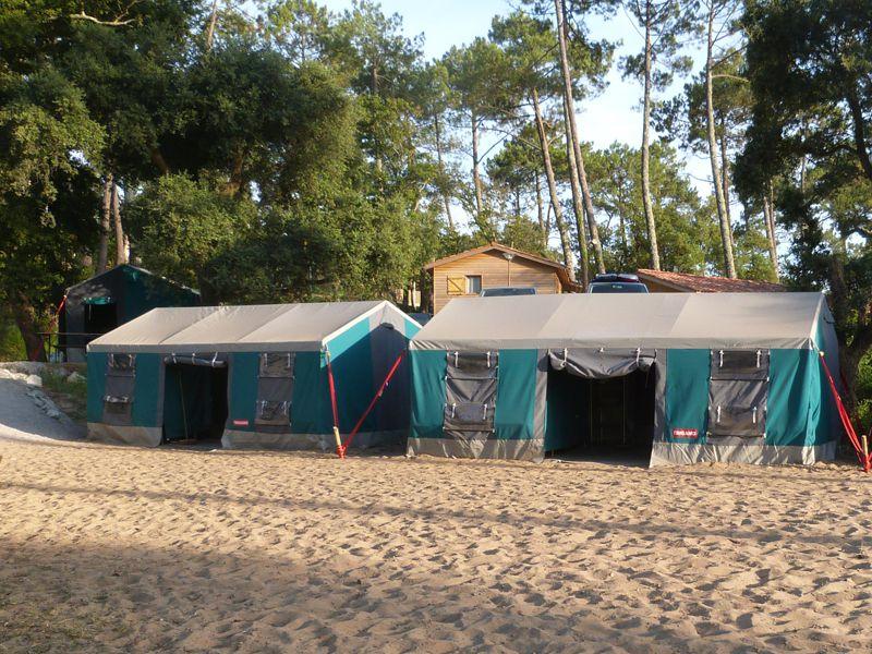 "Centre d'accueil Camping ""Les Civelles"" : centre de vacances CAPBRETON   Djuringa Juniors"