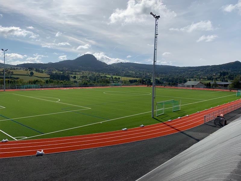 Terrain de football stage sportif