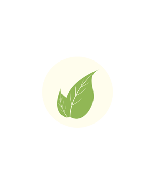 Logo alimentation bio et locale vert