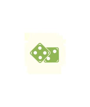 Logo jeux autour du tri sélectif et développement durable