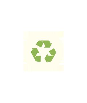 Logo du recyclage vert