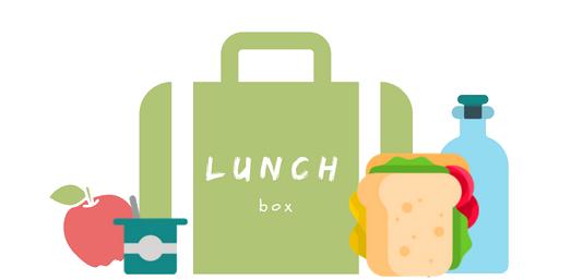 Lunch box avec collations pour enfants
