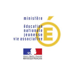 Logo du ministère de l'éducation nationale, de la jeunesse et de la vie associative