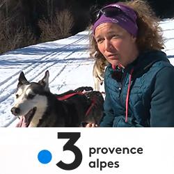 Reportage de France 3 sur les colonies de vacances Djuringa Juniors avec chien de traineaux