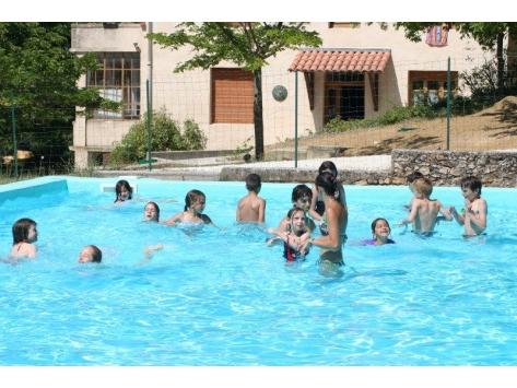 piscine privée du centre de vacances